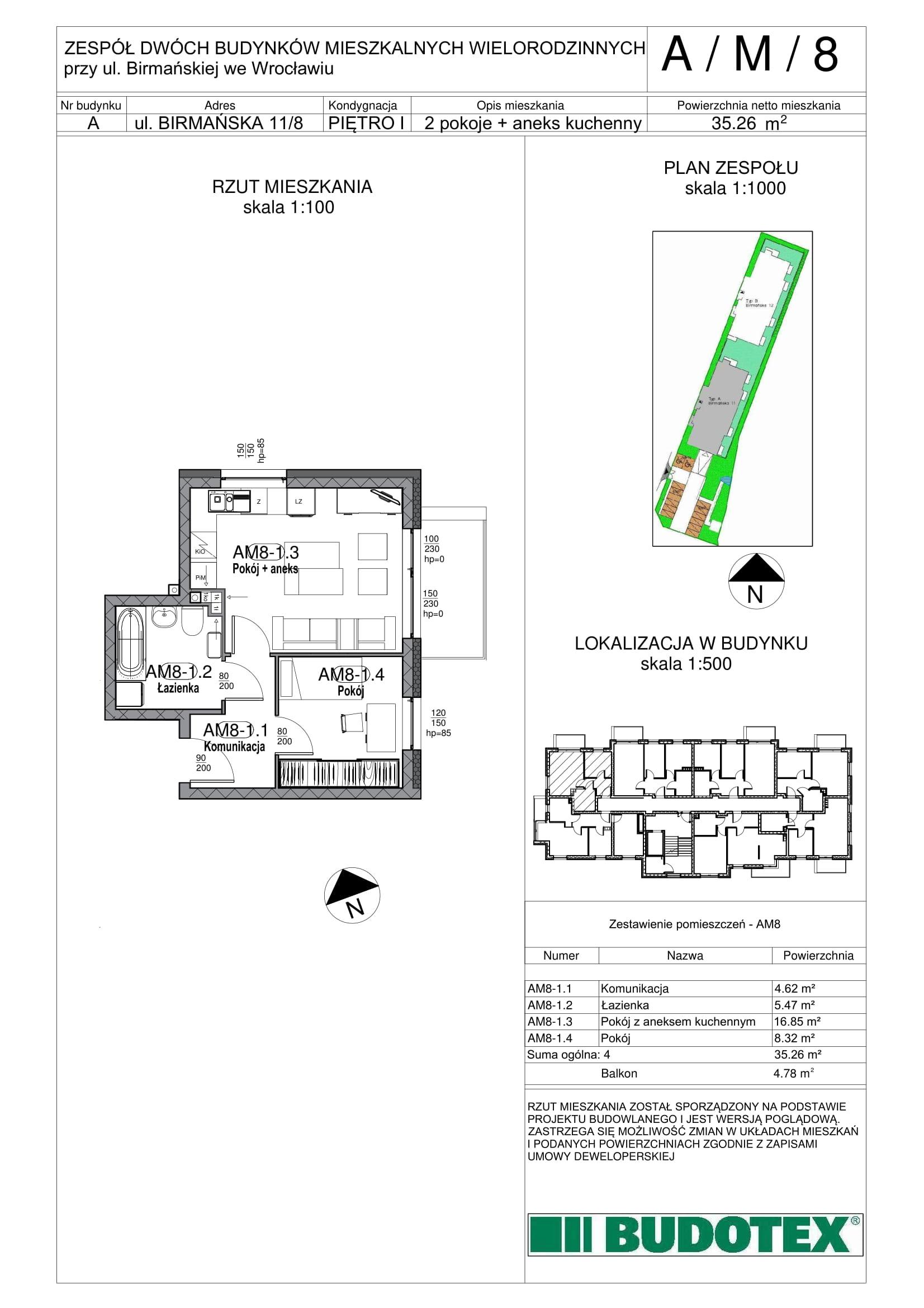 Mieszkanie nr A/M/08