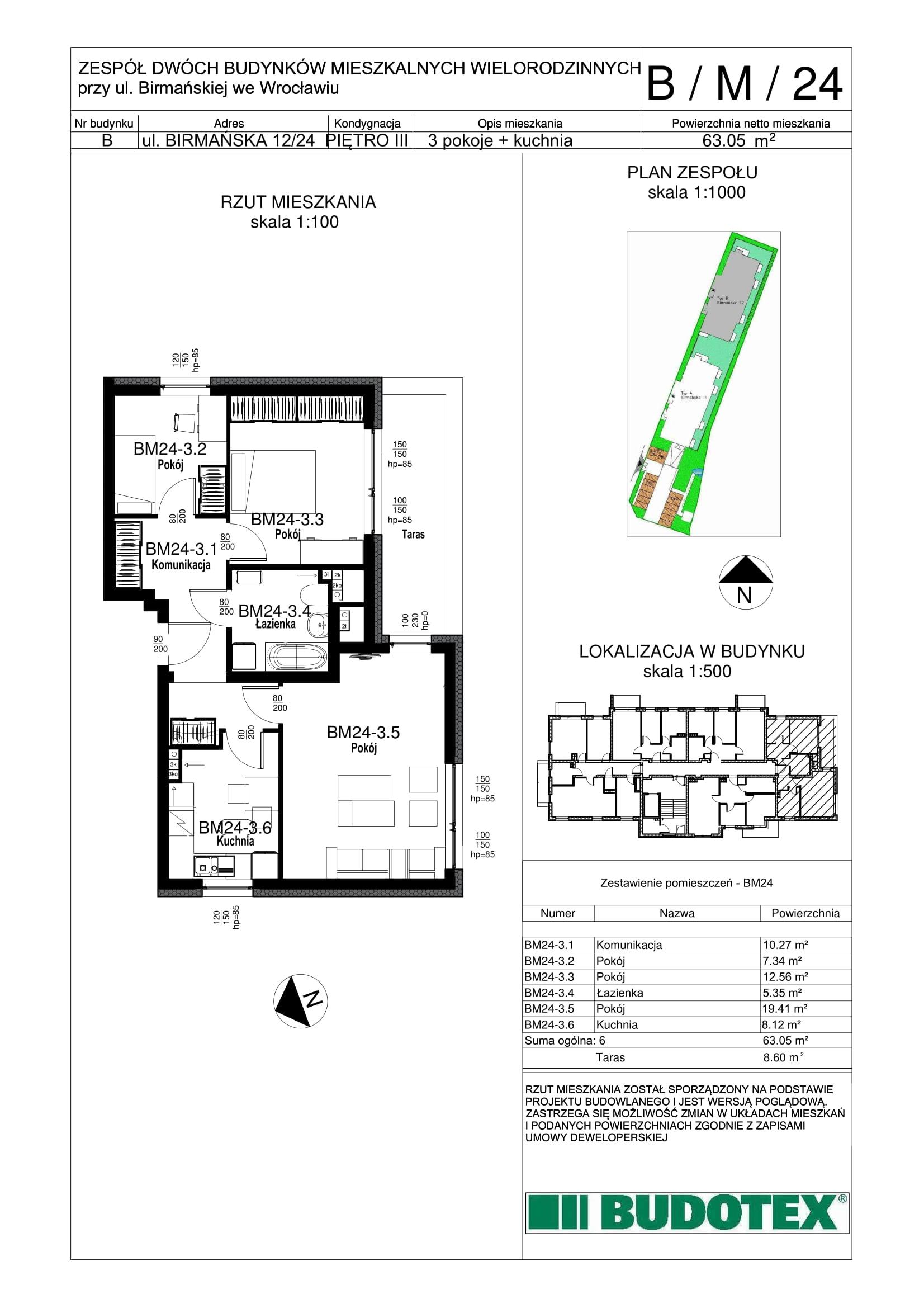 Mieszkanie nr B/M/24