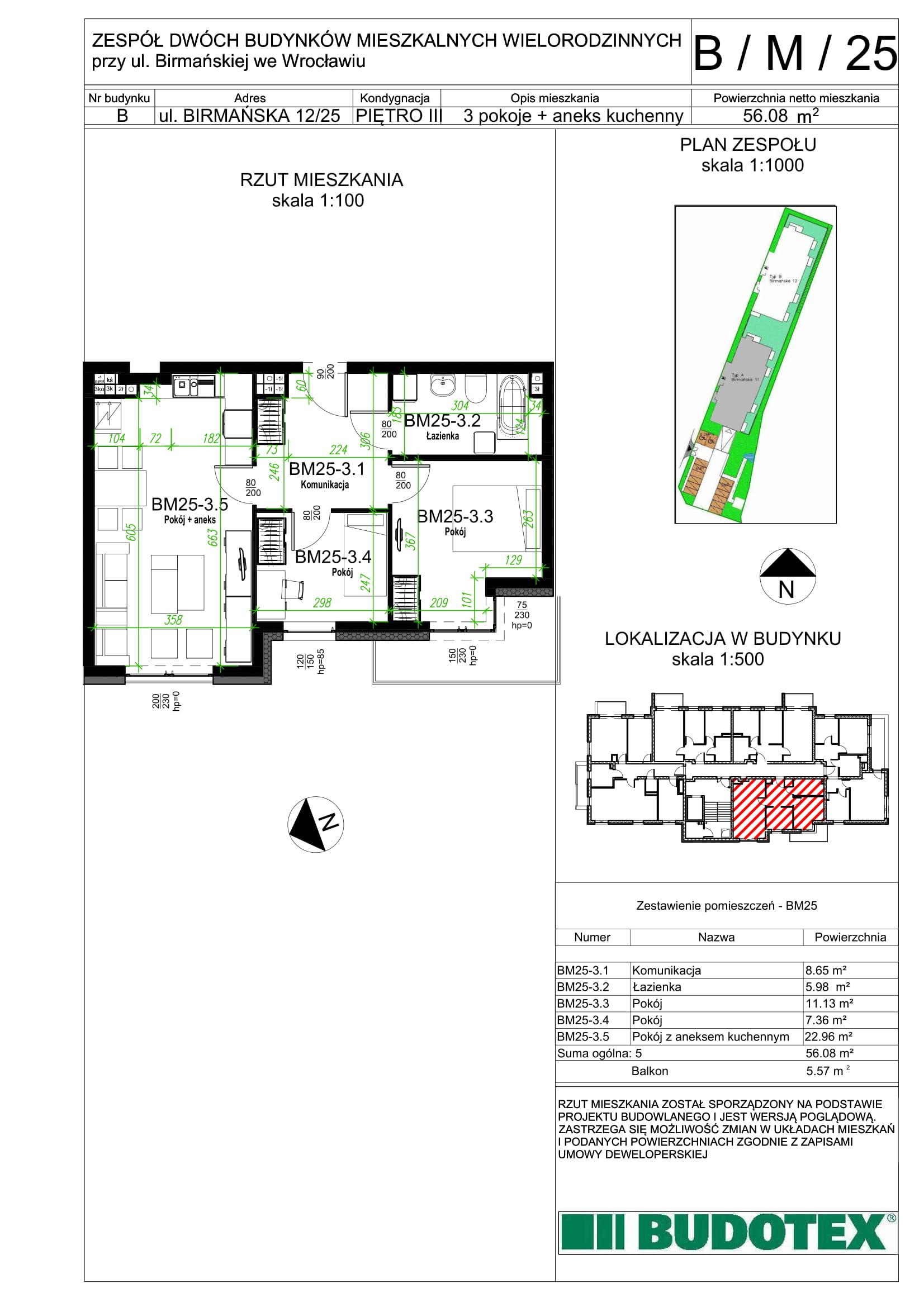 Mieszkanie nr B/M/25