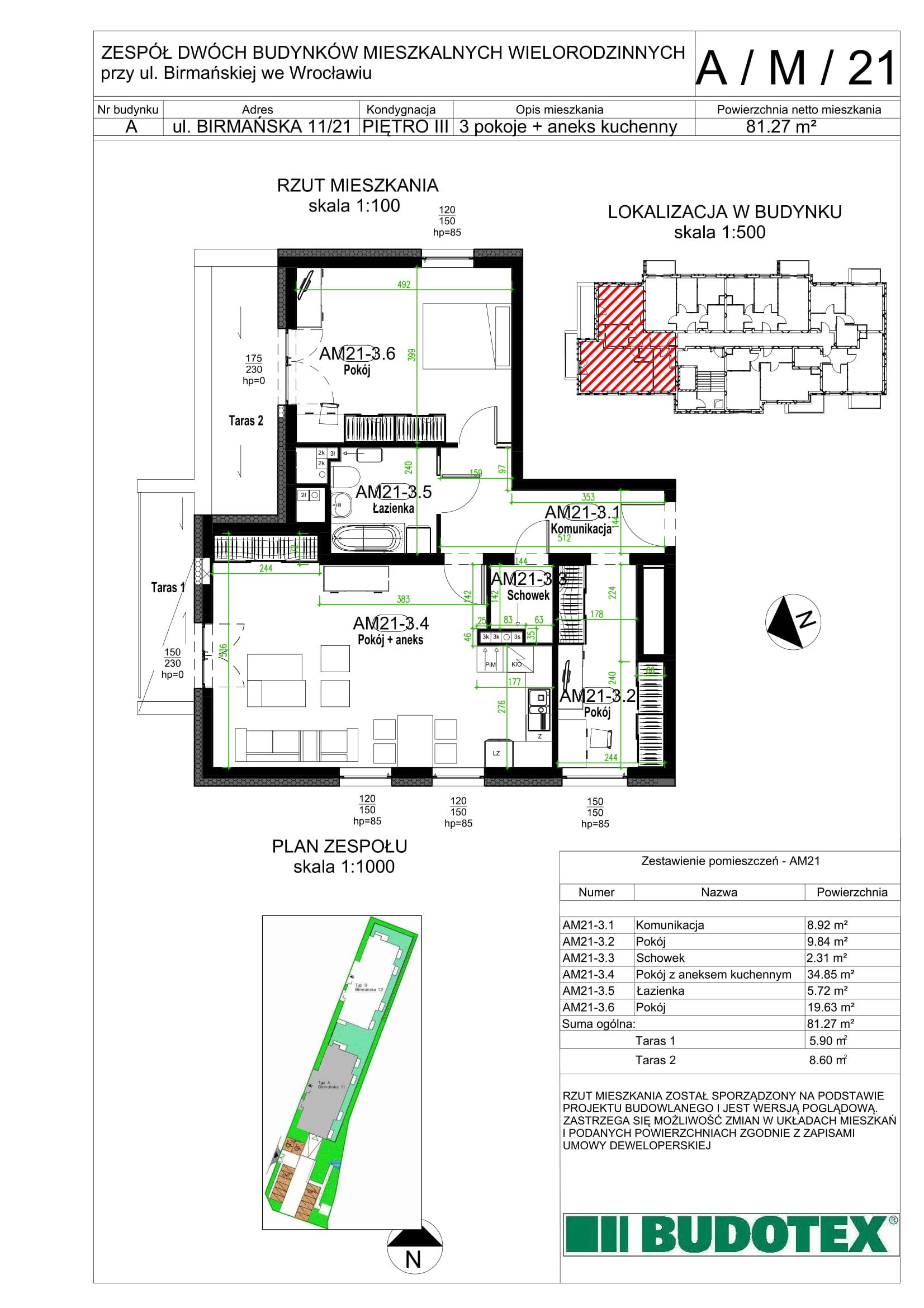 Mieszkanie nr A/M/21