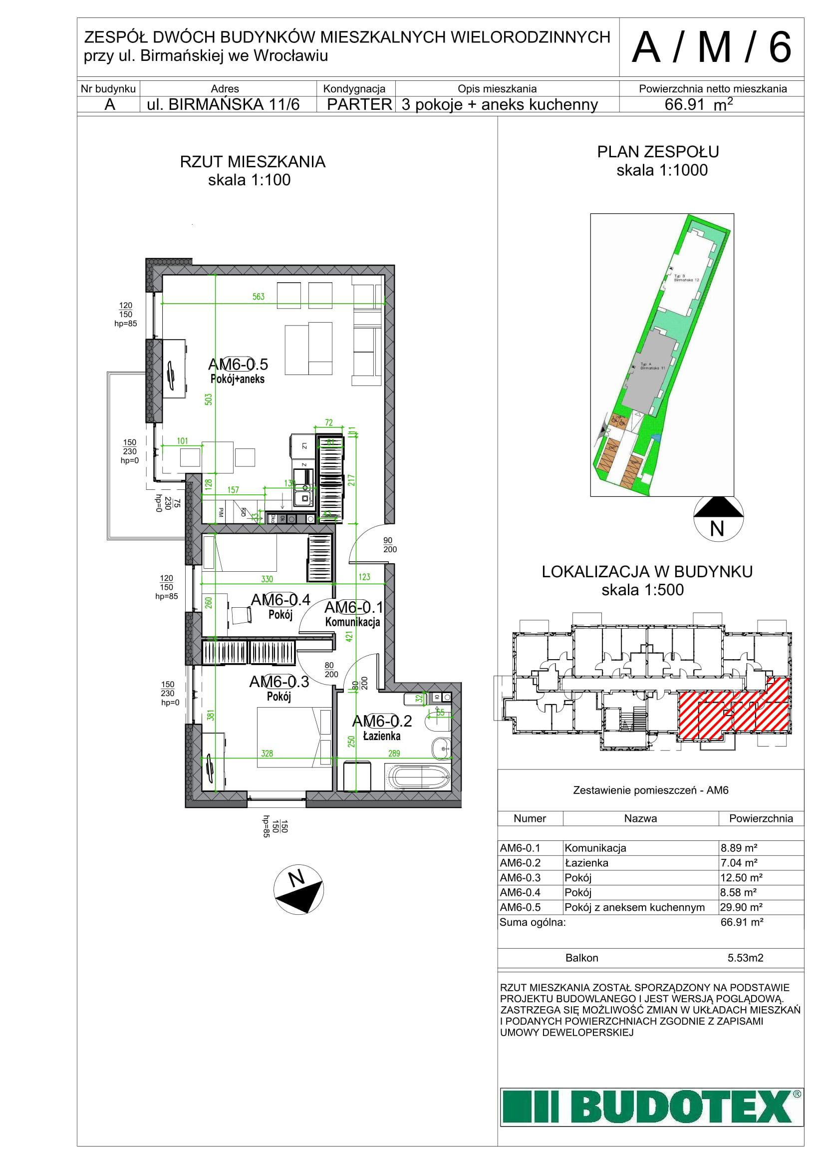 Mieszkanie nr A/M/06