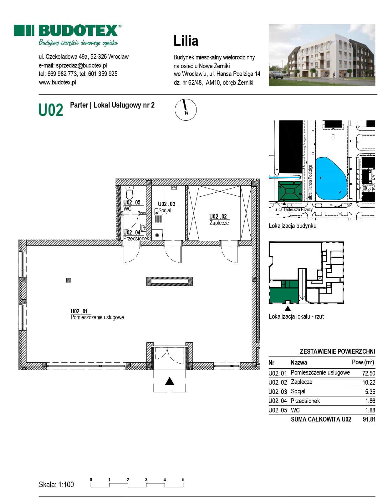 Mieszkanie nr U02