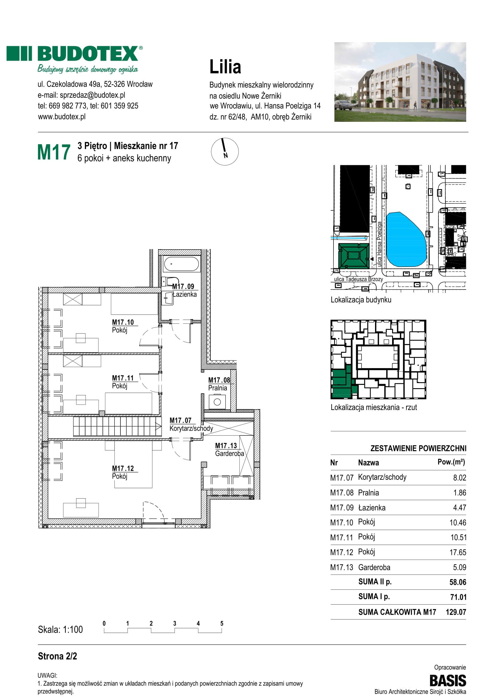 Mieszkanie nr M17
