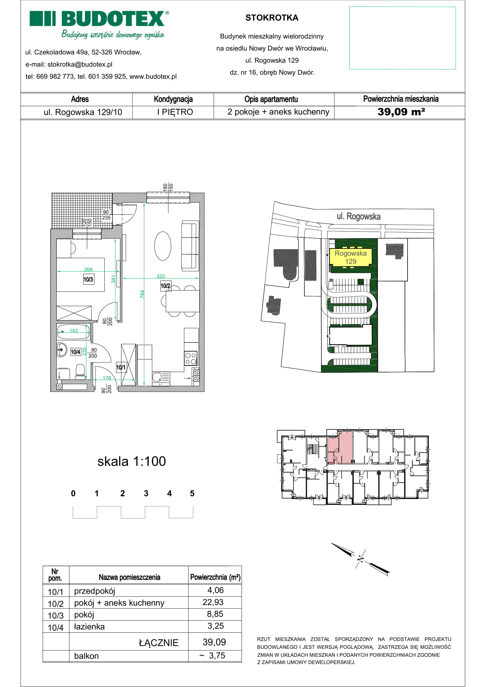 Mieszkanie nr 10