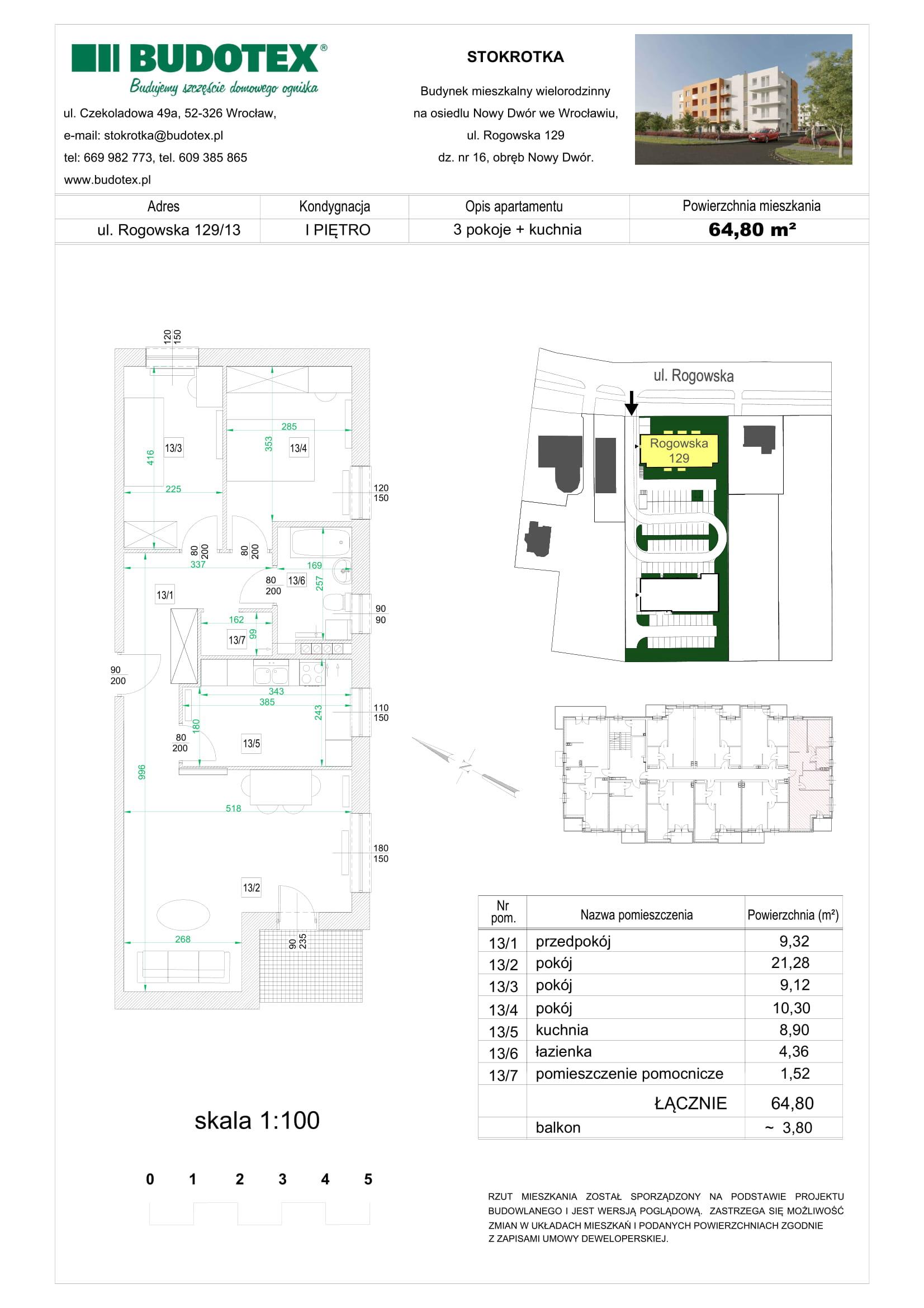 Mieszkanie nr 13