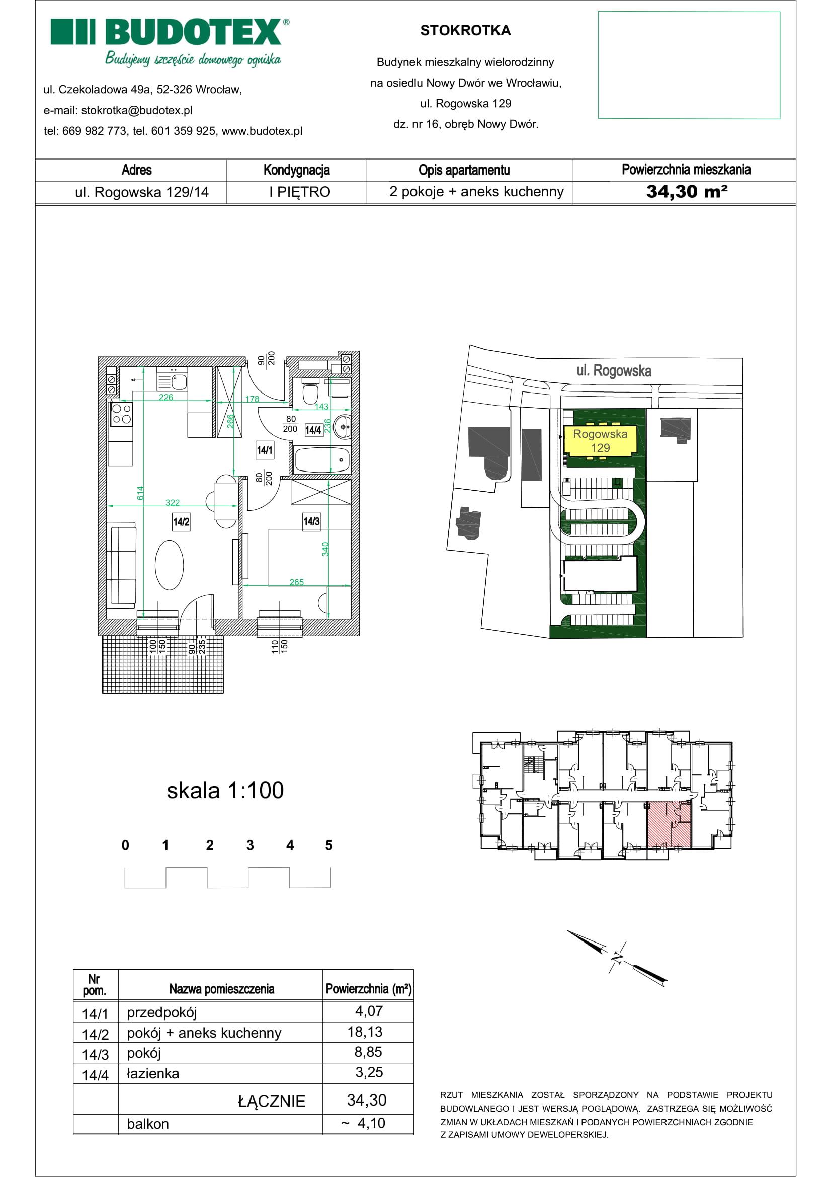 Mieszkanie nr 14