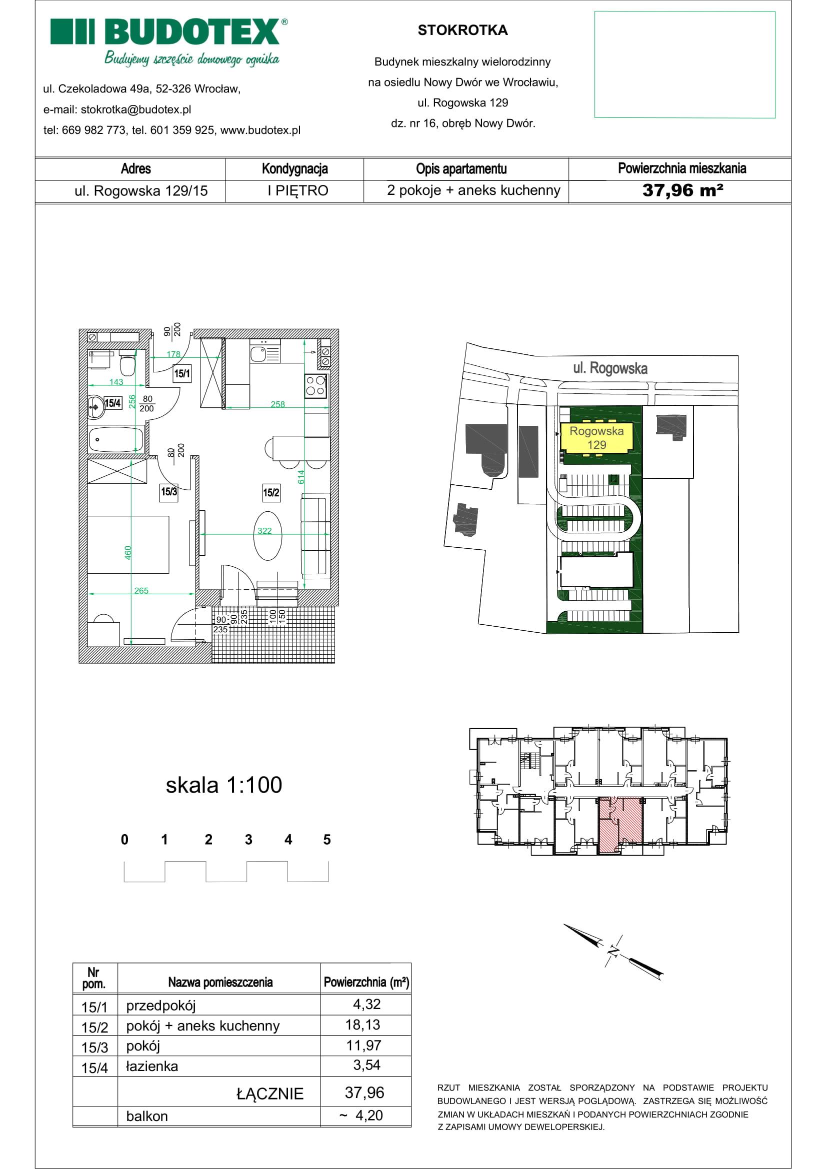 Mieszkanie nr 15