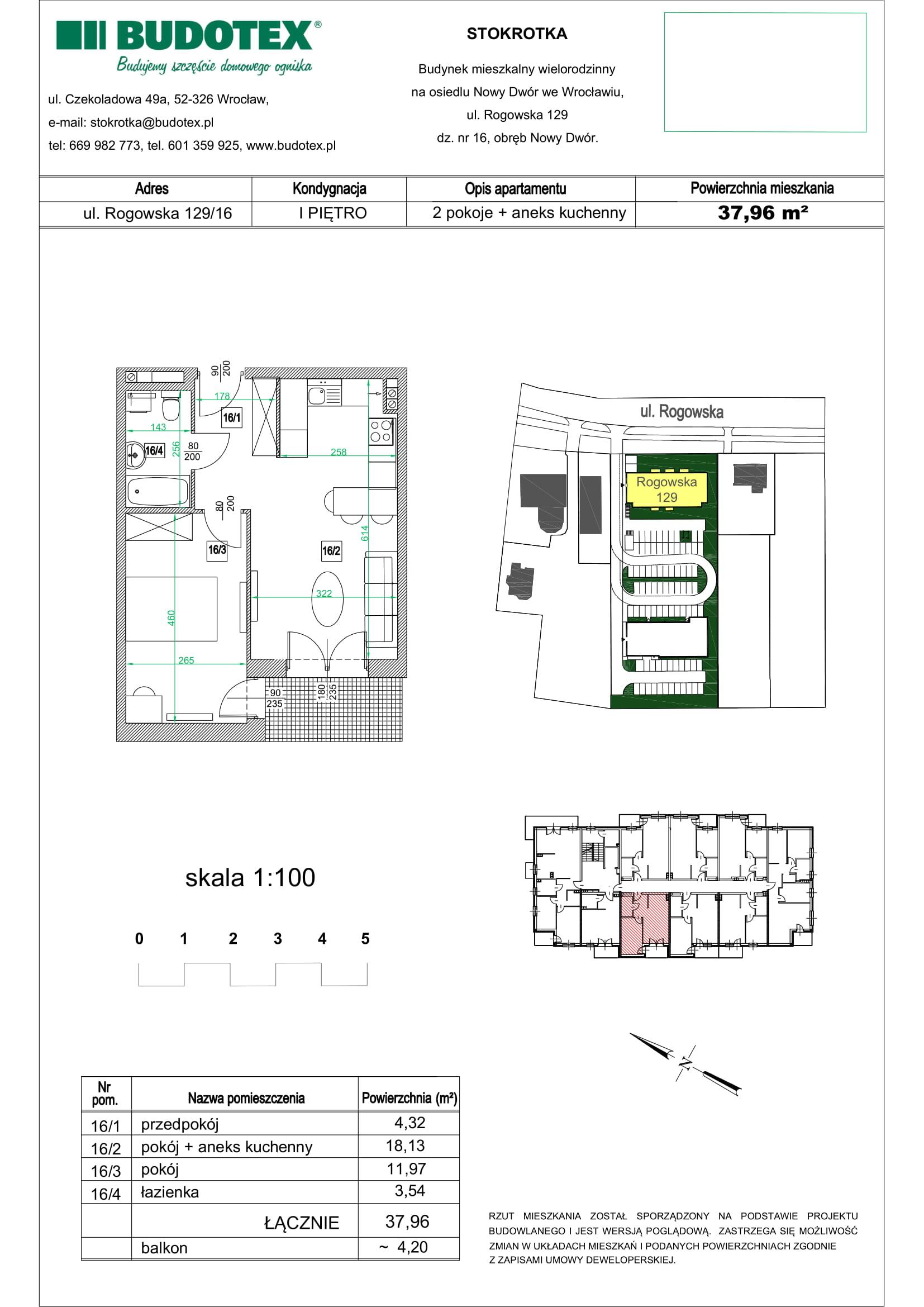 Mieszkanie nr 16