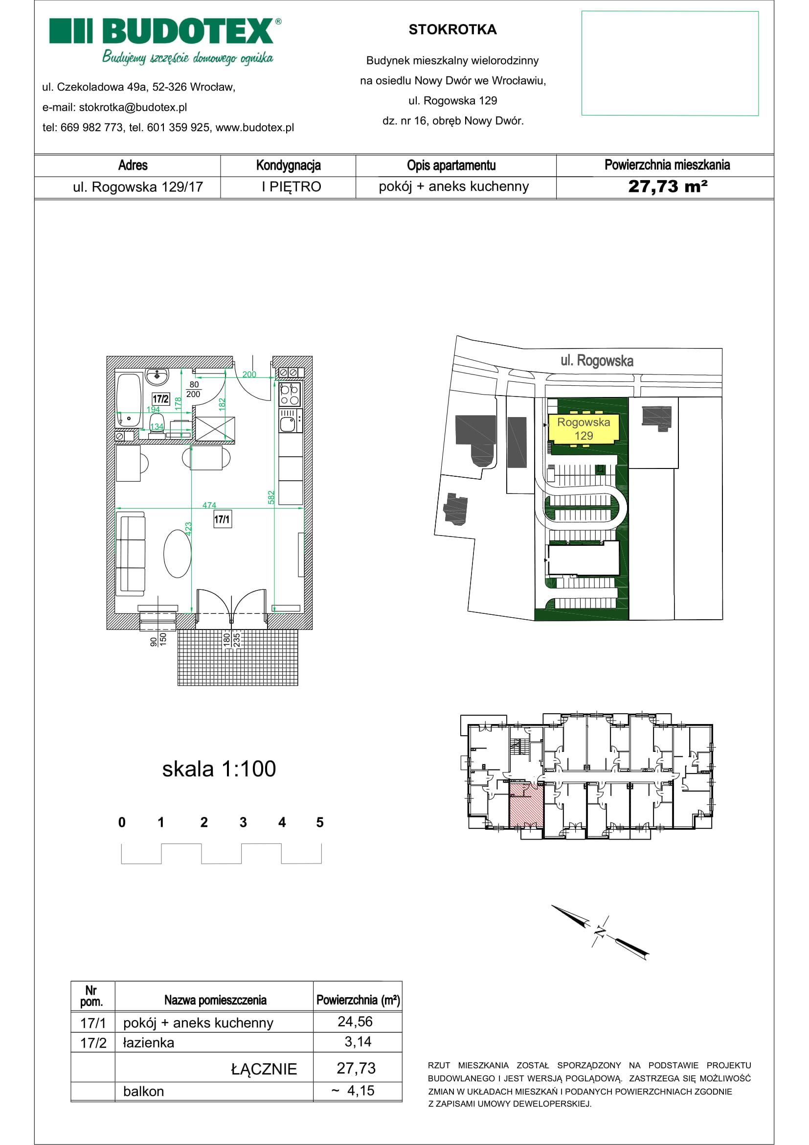 Mieszkanie nr 17