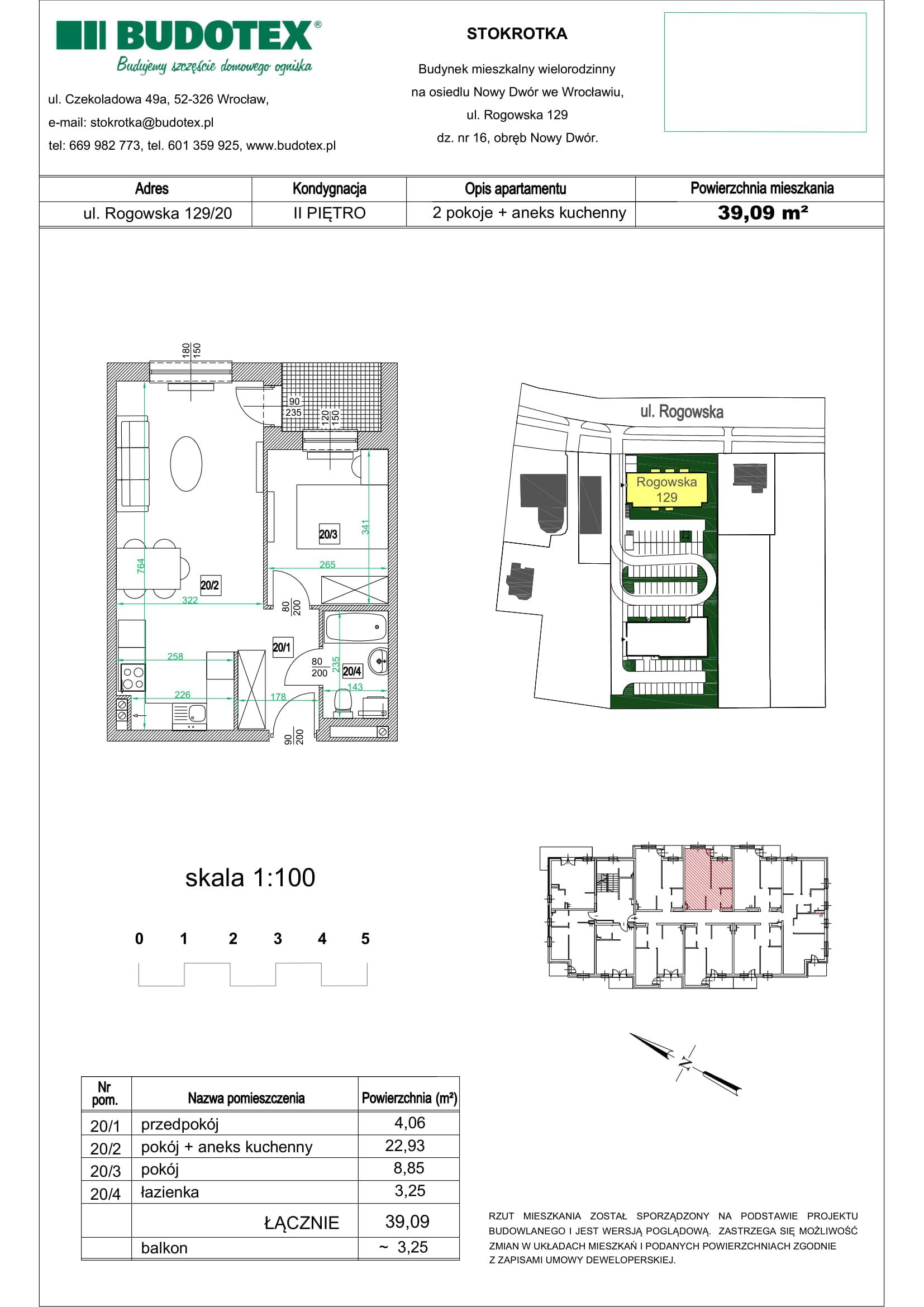 Mieszkanie nr 20