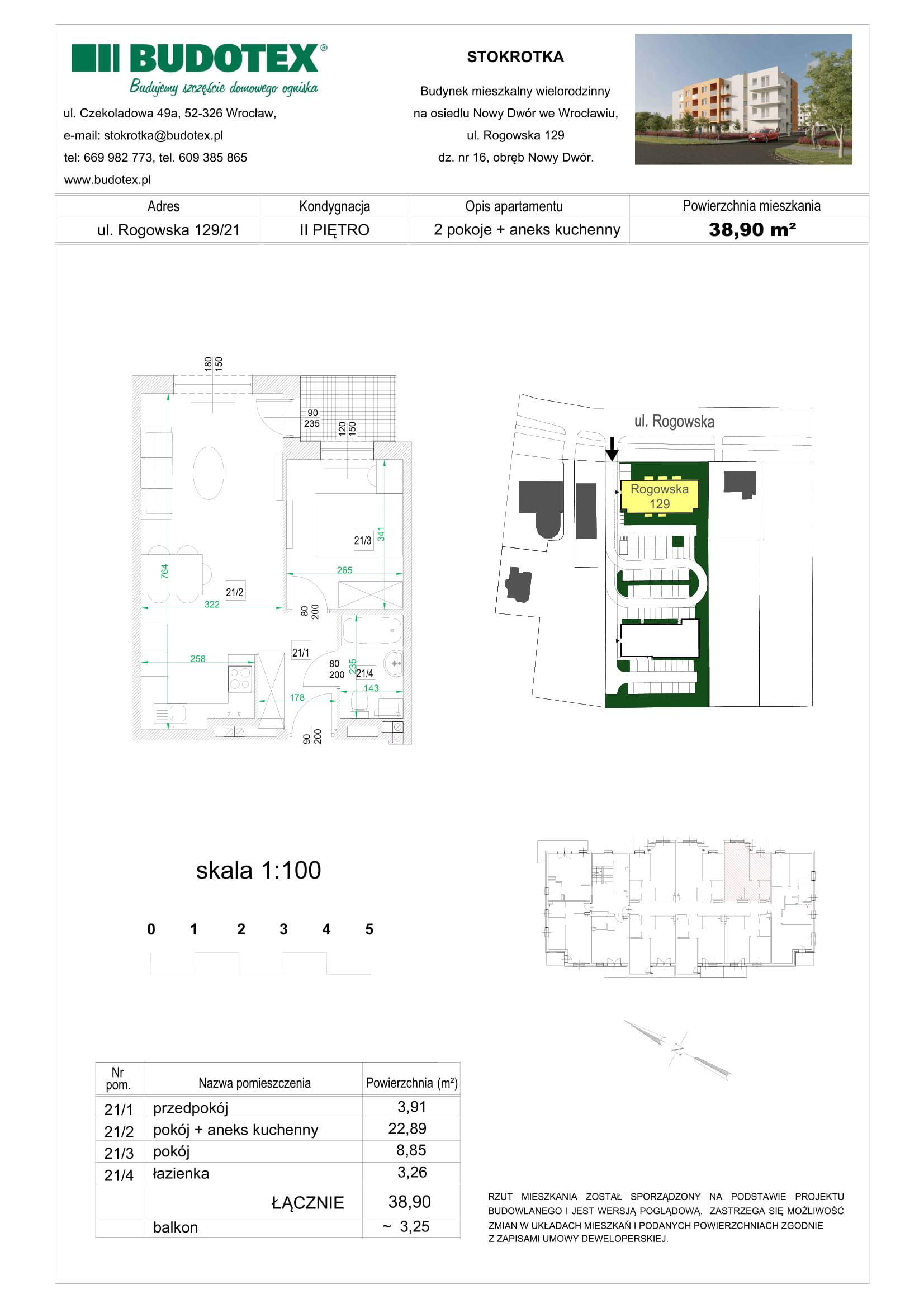 Mieszkanie nr 21