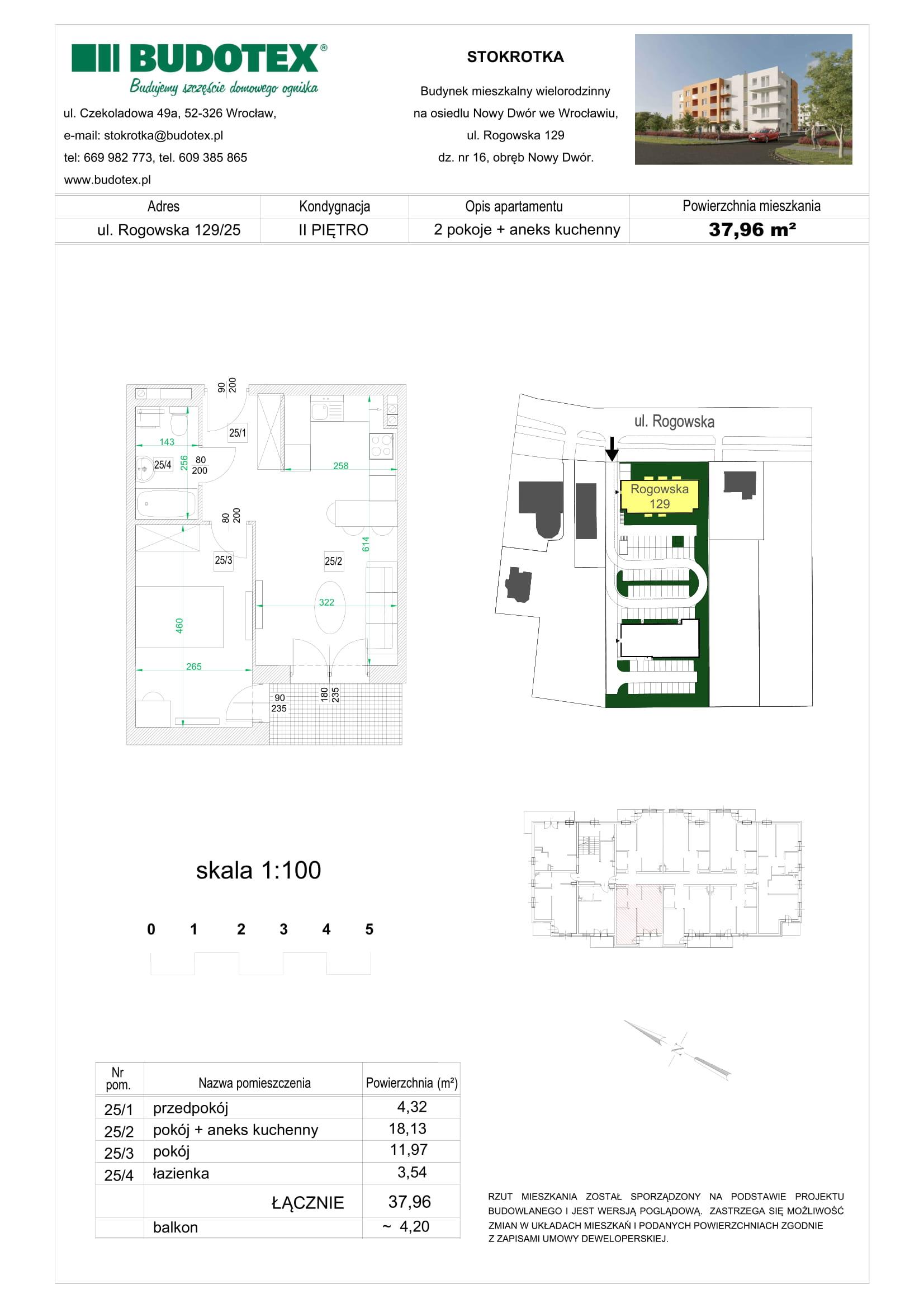 Mieszkanie nr 25