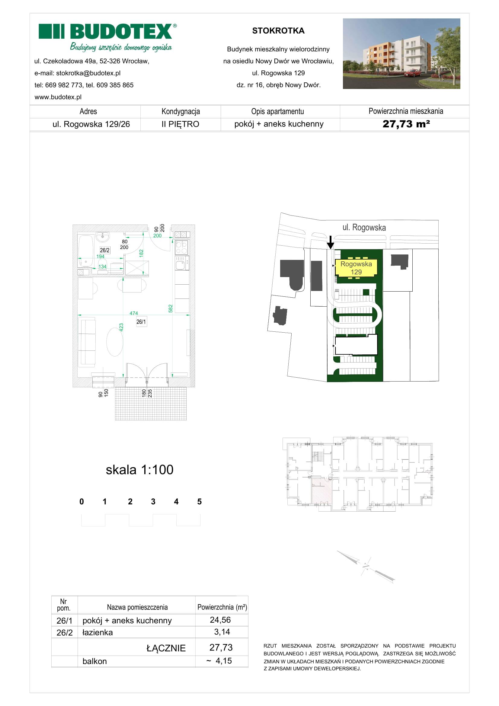 Mieszkanie nr 26