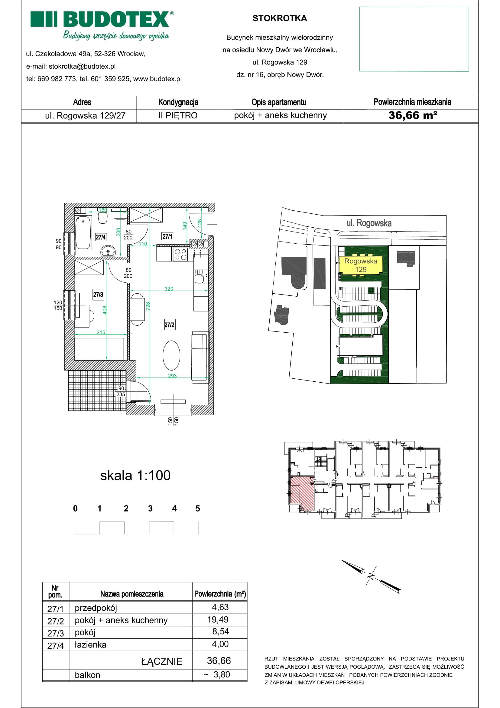 Mieszkanie nr 27