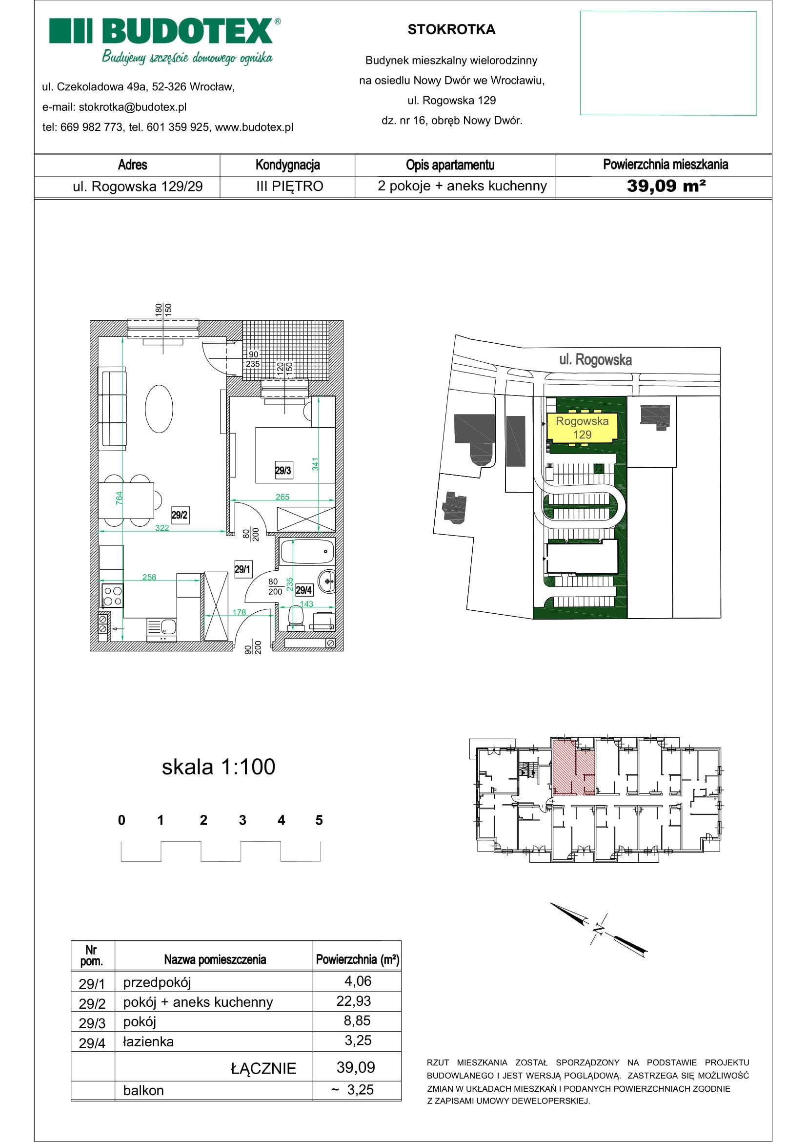Mieszkanie nr 29