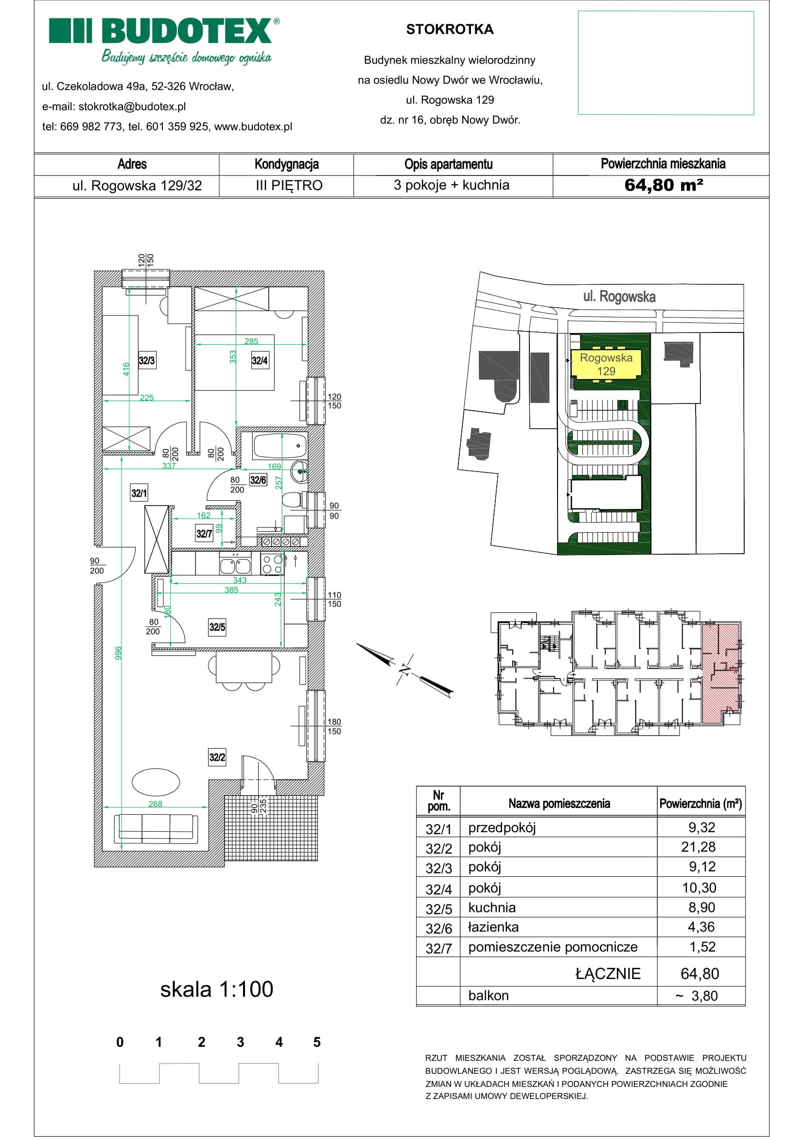 Mieszkanie nr 32