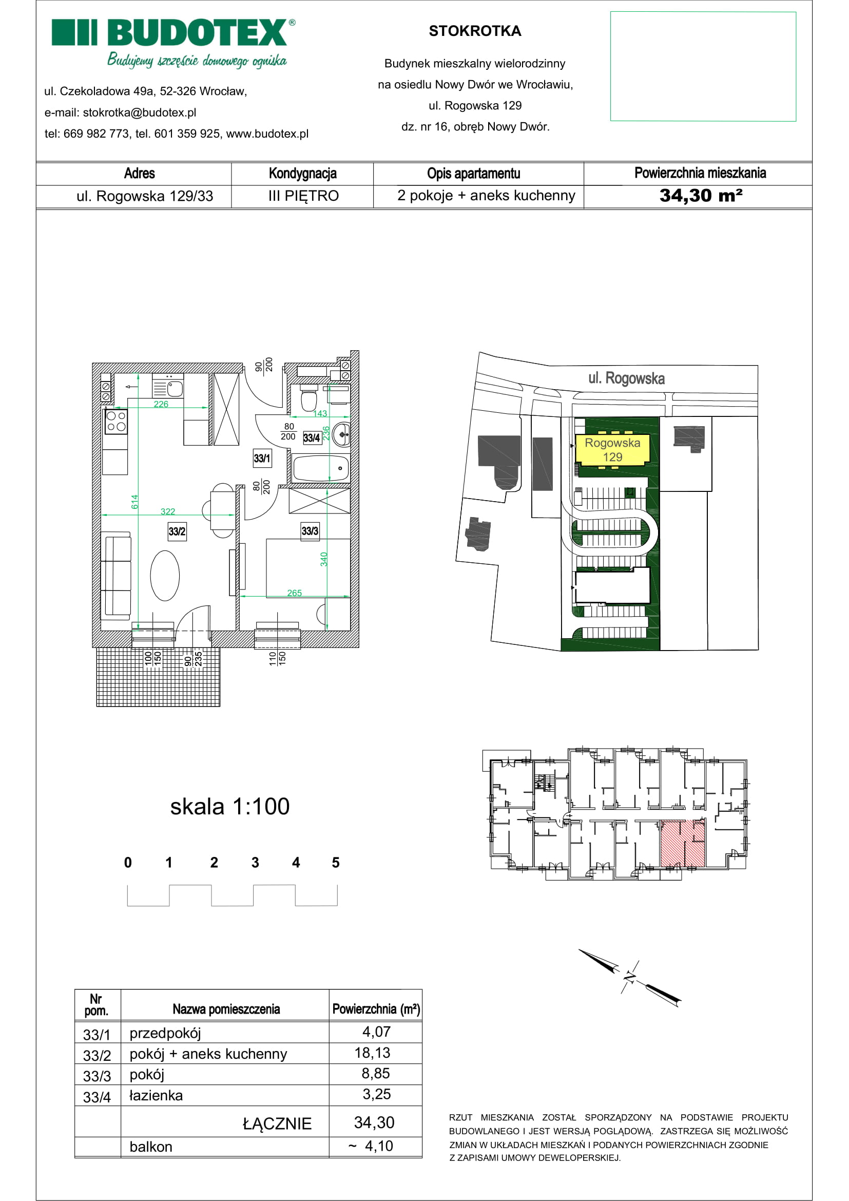 Mieszkanie nr 33
