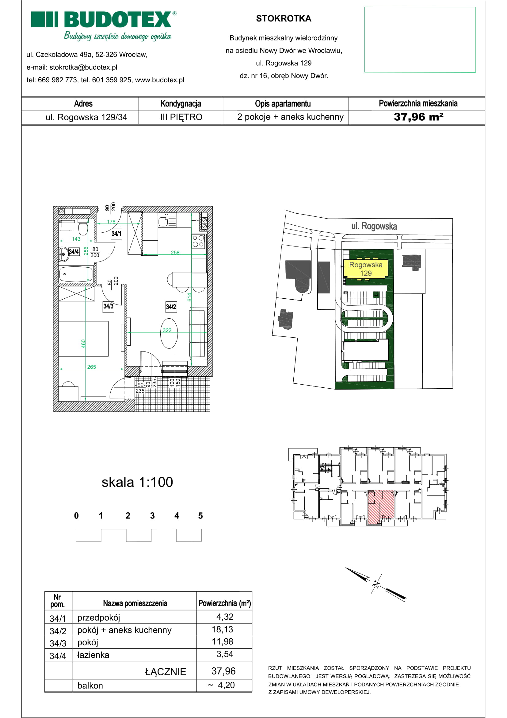 Mieszkanie nr 34