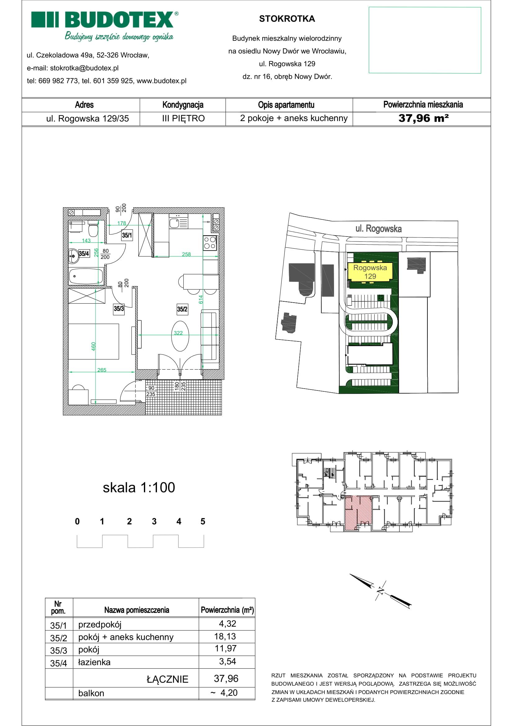 Mieszkanie nr 35