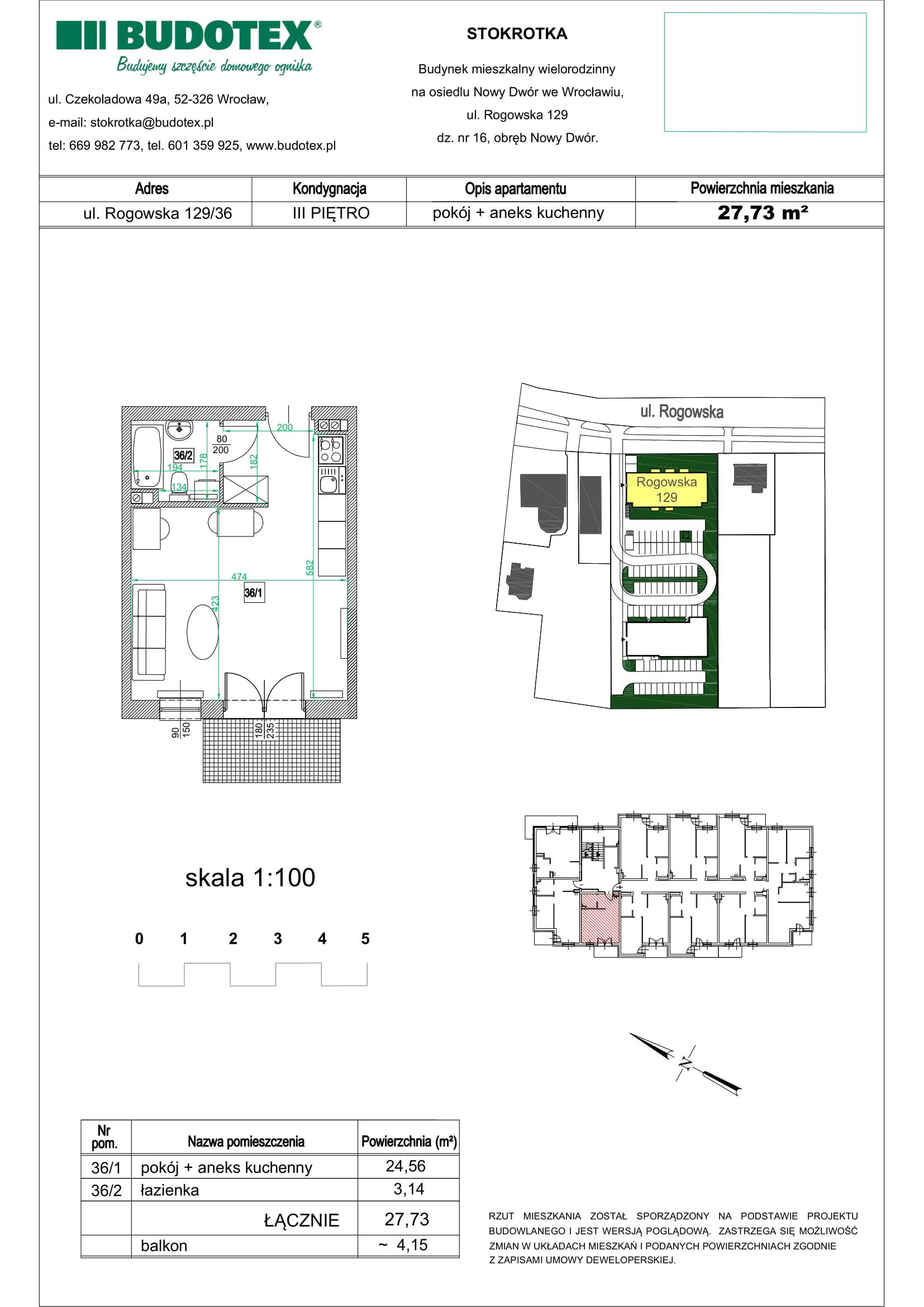 Mieszkanie nr 36