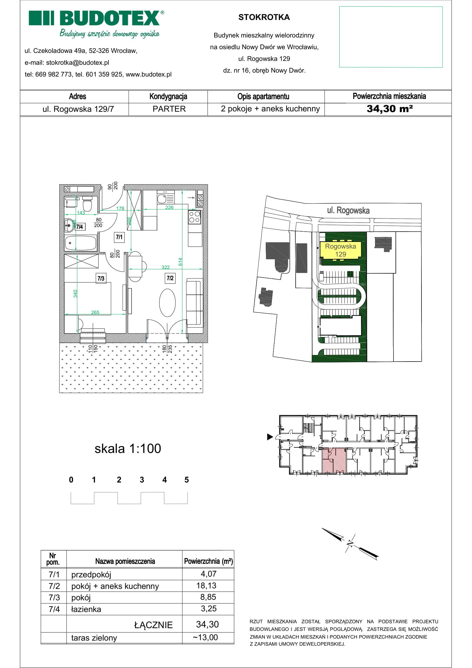 Mieszkanie nr 07