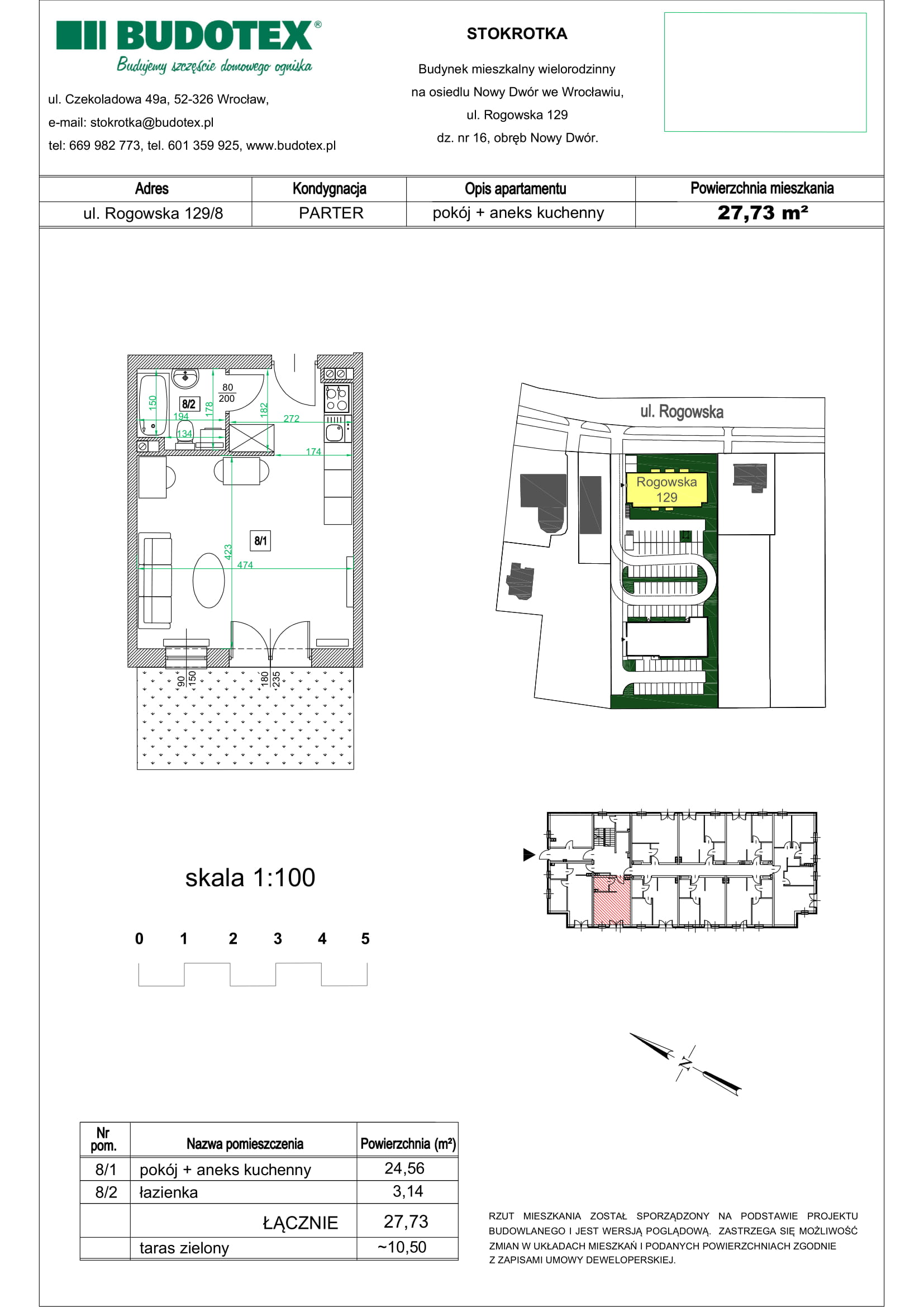 Mieszkanie nr 08