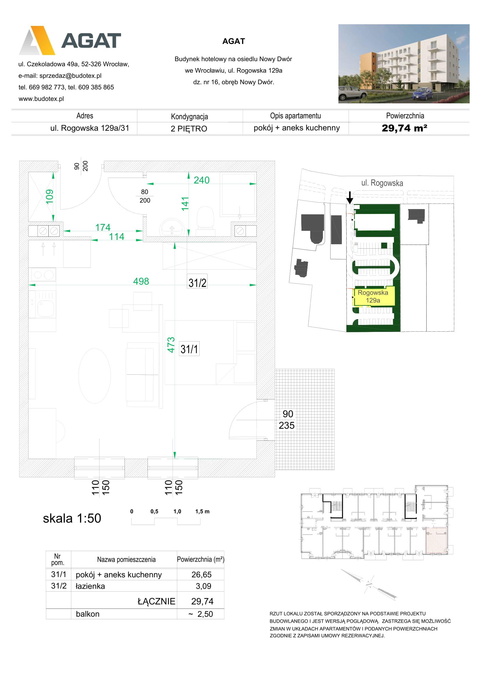 Mieszkanie nr 31