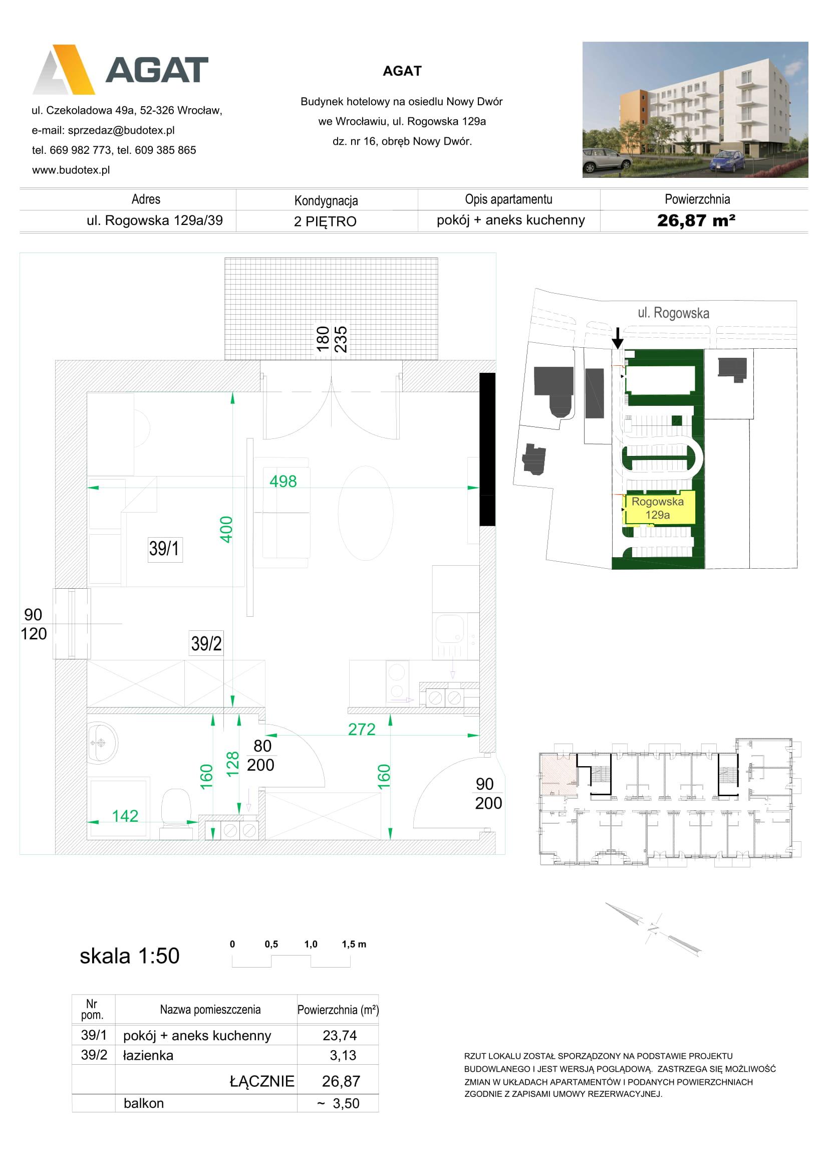 Mieszkanie nr 39