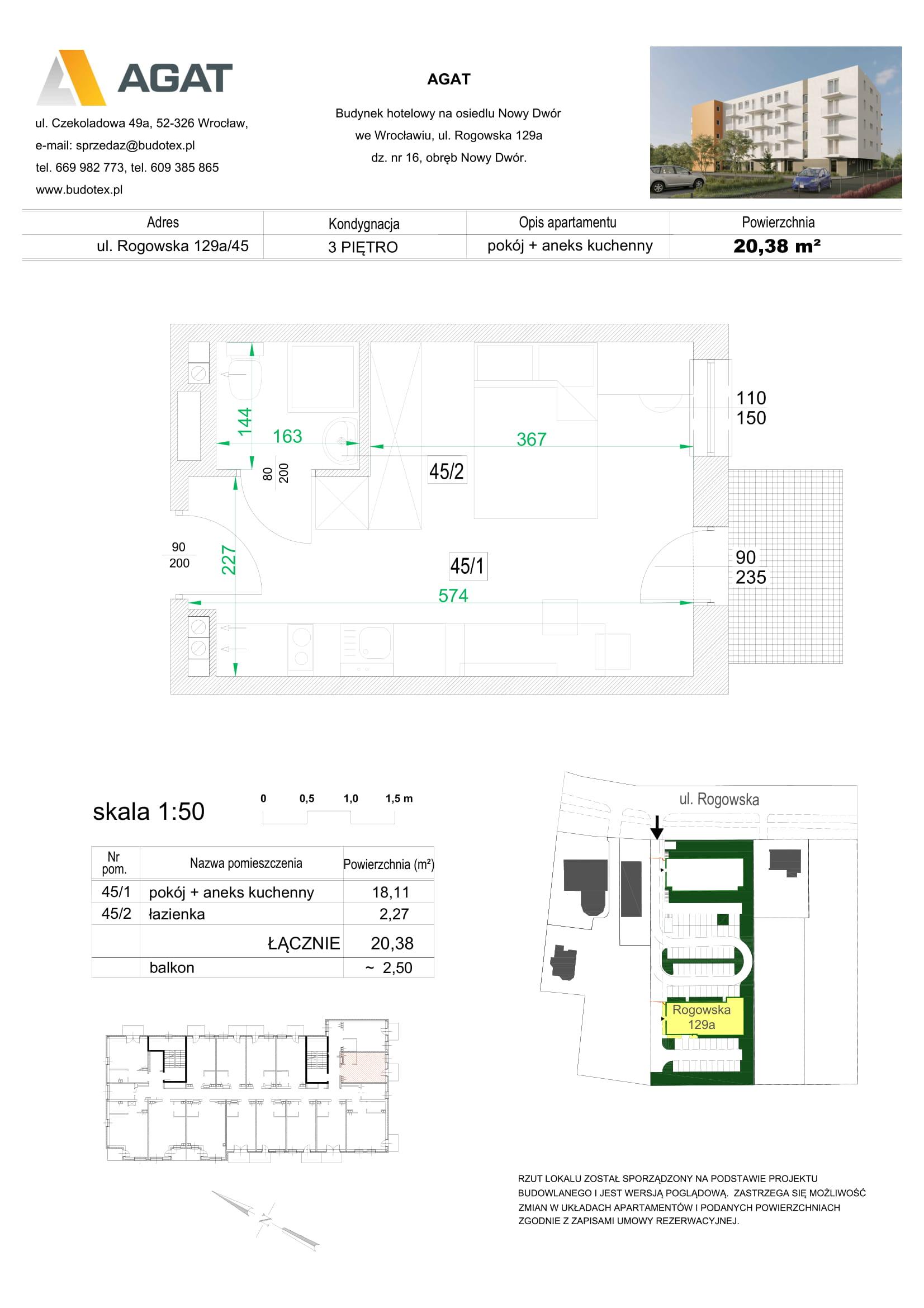 Mieszkanie nr 45