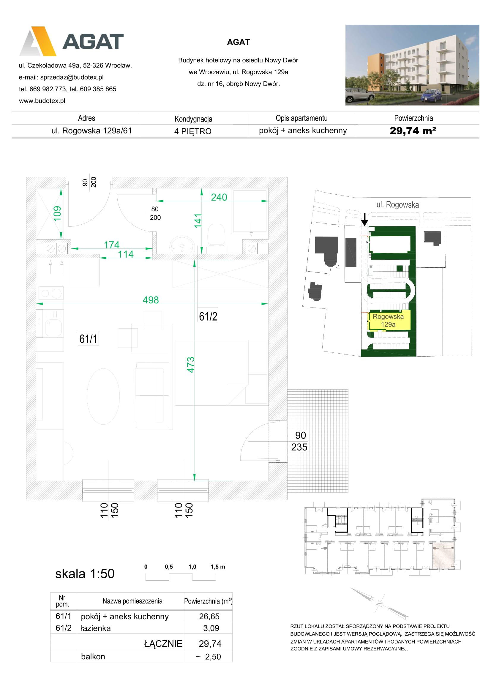 Mieszkanie nr 61