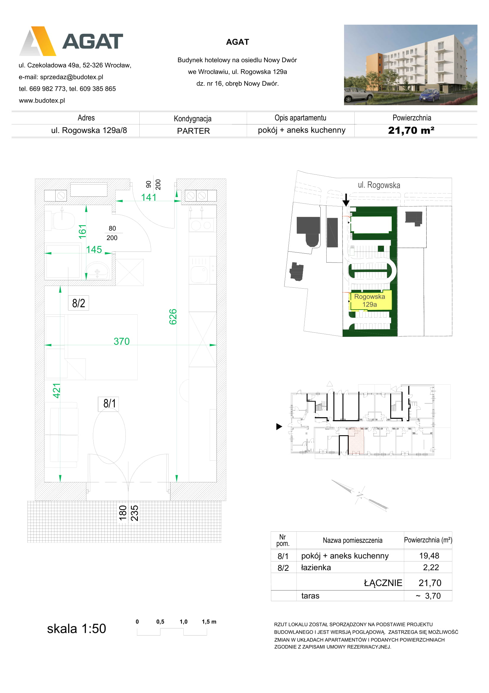 Mieszkanie nr 8